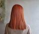 【オルチャンスタイル】オレンジカラー