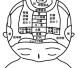 頭の反射区(体の鏡)